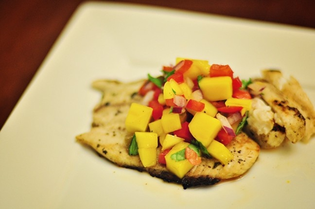 Grilled Tilapia with Mango Salsa | Recipes | Pinterest