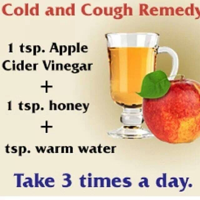 Natural Cough Remedy Apple Cider Vinegar