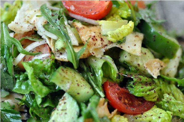 Fattoush salad | Eats | Pinterest