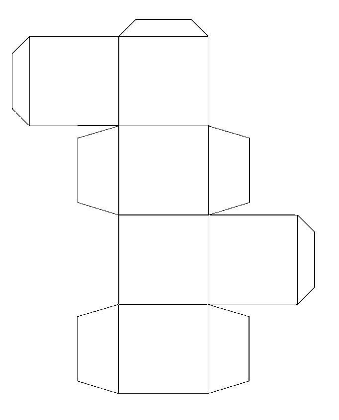 Square paper gift box pattern | Craft Ideas | Pinterest