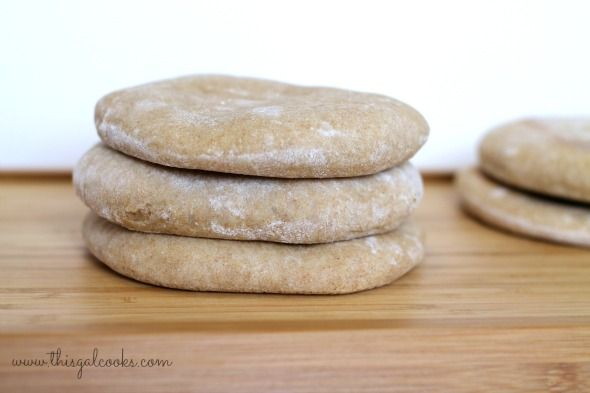 Recipe: Whole Wheat Pita Bread - This Gal Cooks
