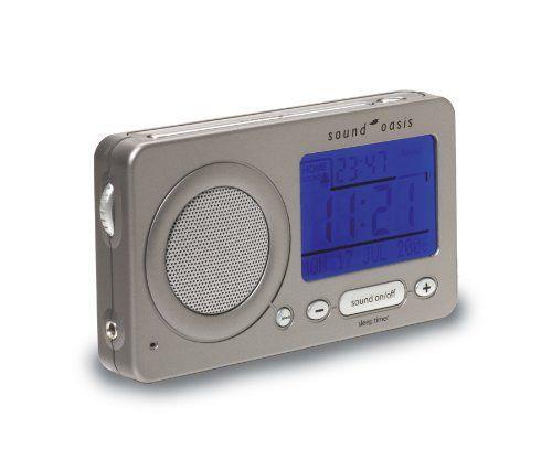 view product travel sleep sound machine with alarm