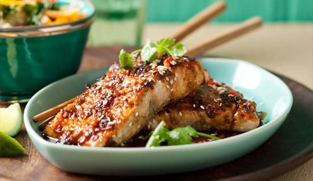 Asian-style salmon | Recipes to try | Pinterest