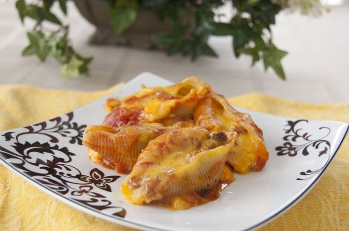 Taco Stuffed Shells | Wishes and Dishes