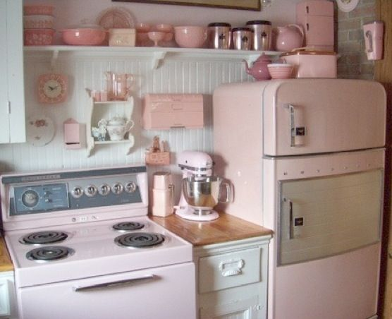Pastel kitchen  Home decor ideas  Pinterest