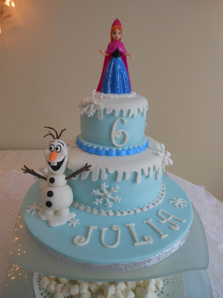 Birthday Cake Ideas Disney Frozen : Disney