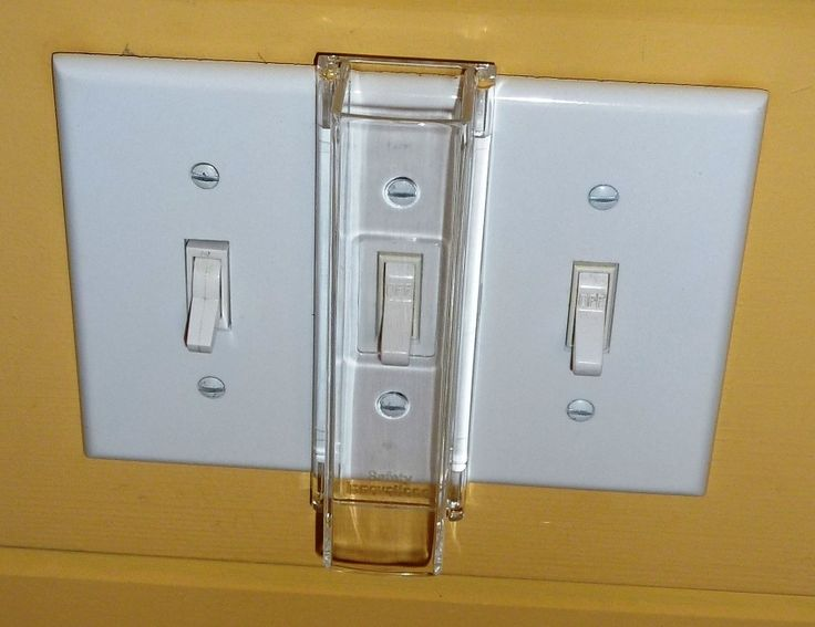 child proof light switch guard standard