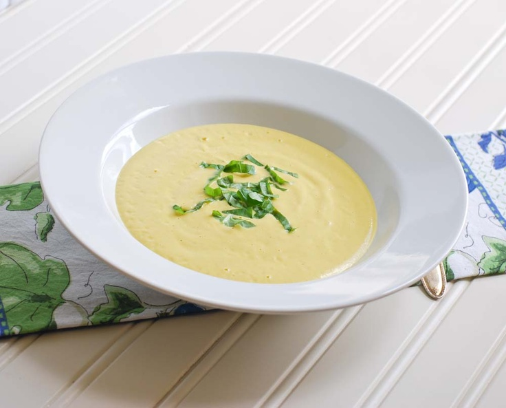 Chilled Yellow Pepper and Mango Soup | Savory Experiences | Pinterest