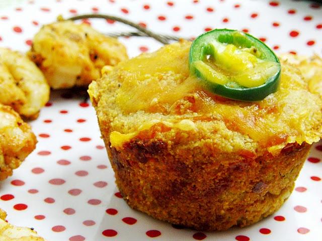 Jalapeno Cheddar Corn Muffins | side dish | Pinterest