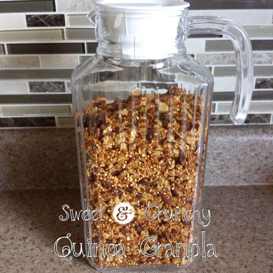 Quinoa Granola | recipes | Pinterest