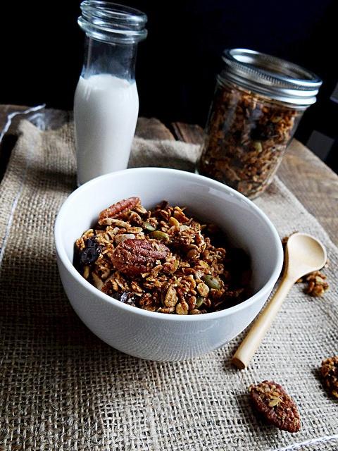 Cherry Pecan Maple Granola   Good Eats & Treats   Pinterest