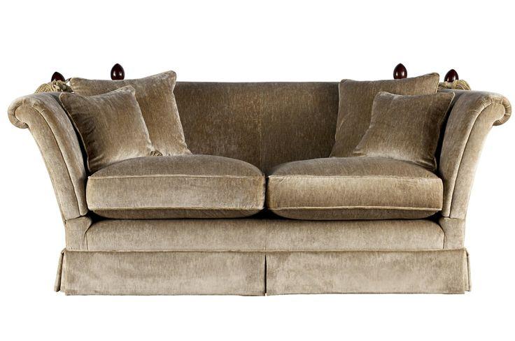 Langham Upholstered Large 2 Seater Sofa Laura Ashley