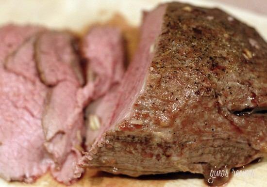 GARLIC LOVER'S ROAST BEEF | Eat! | Pinterest