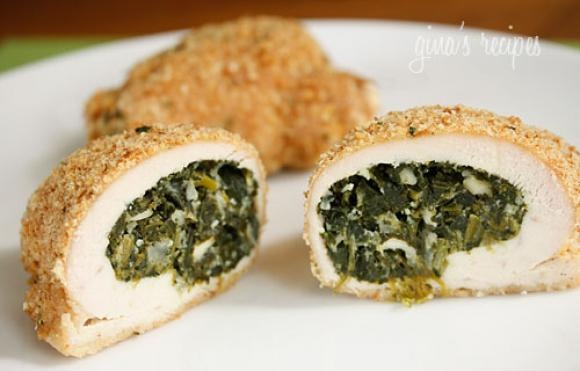 Spinach Stuffed Chicken Breast | Eat This! | Pinterest