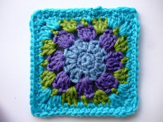 Free Crochet Patterns Using Embroidery Thread : Free Pattern - Nuthatch Granny Square Crochet Yarn ...