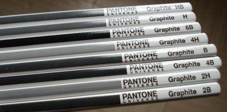 Pantone Universe Graphite pencils