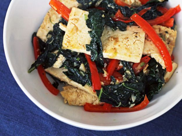 Spicy Stir-Fried Tofu With Kale and Red Pepper | Serious Eats ...