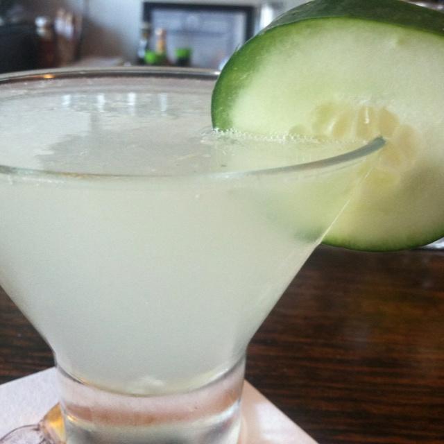 Kernel one citron, fresh squeezed lemonade, muddled cucumber and basil ...