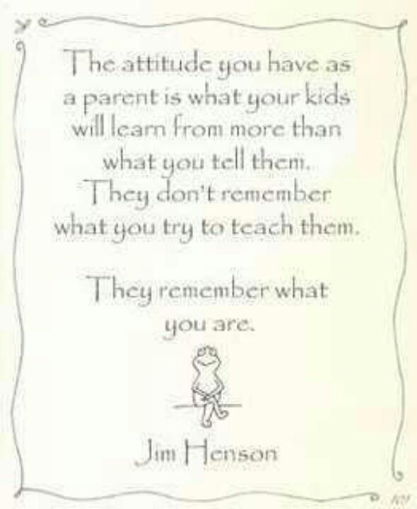 Jim Henson Parent Quote