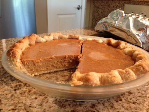 Bean Pie Recipe w/ Cardamom   Sweety Sweet   Pinterest
