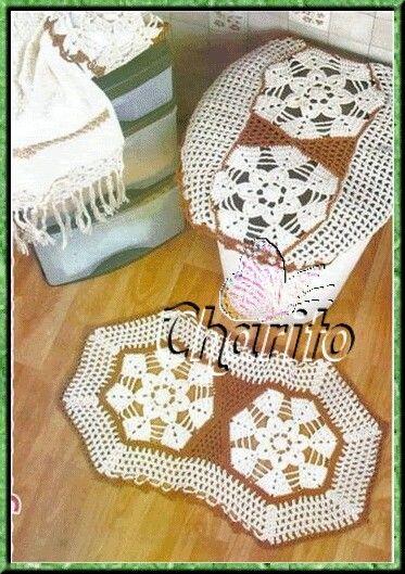 Juegos De Baño Hechos En Crochet:Juegos De Bano En Crochet