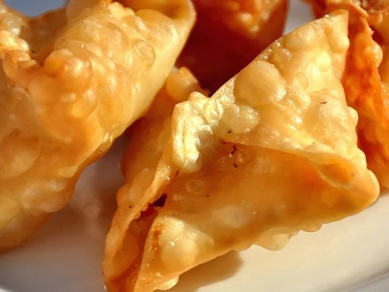 ve been in the mood for crab rangoon all day