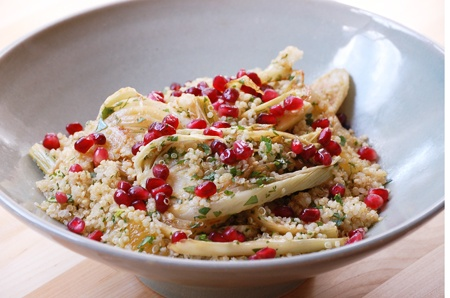 Quinoa, fennel and pomegranate salad. | Vegetarian | Pinterest