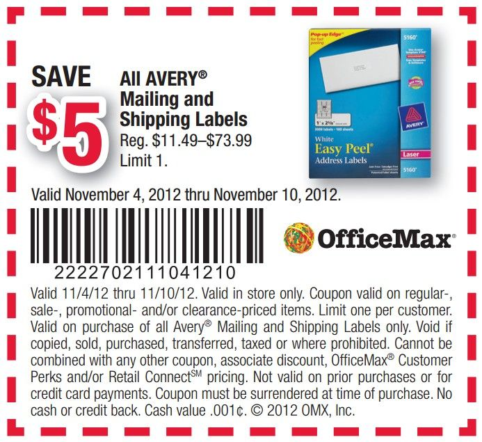 Officemax coupons dec 2018