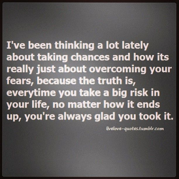 taking chances | words | Pinterest