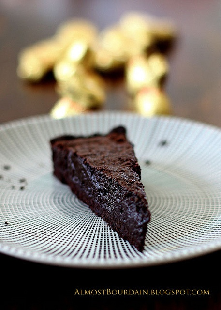 Dark Chocolate Souffle Tart (Tarte Souffle au Chocolat) Recipe