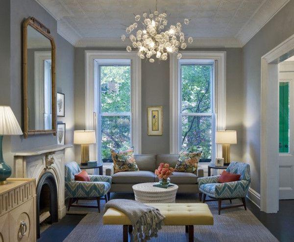 Gray And Teal Living Room Sweet Home El Objeto De Mi Afecto P