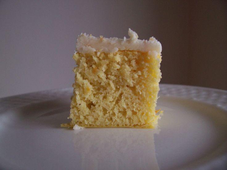 Coconut Flour Orange Cake With Coconut Oil Frosting (GFCF)