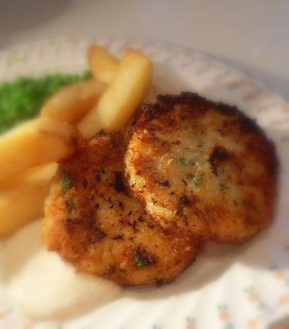 The English Kitchen: Cod Fish Cakes and Tartar Sauce my Grandmother ...