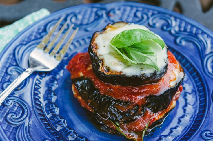 Grilled Eggplant Parmesan by so letshangout #Eggplant #Healthy