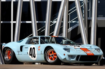 Auction House To Sell Two Ford GT40s In Monterey