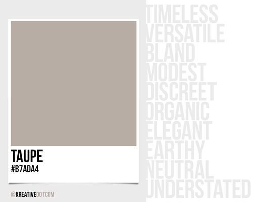 how to make the color taupe