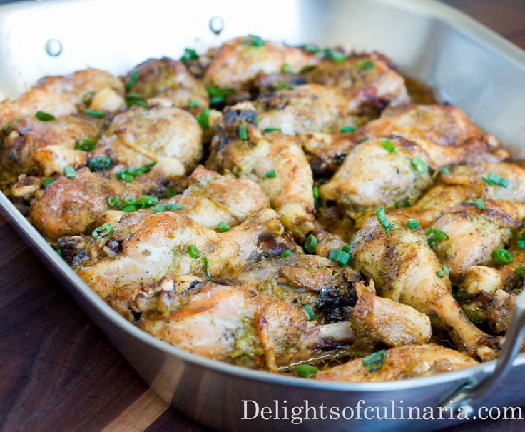 Baked Chicken Drumsticks - #cleanrecipes #Chicken#baked