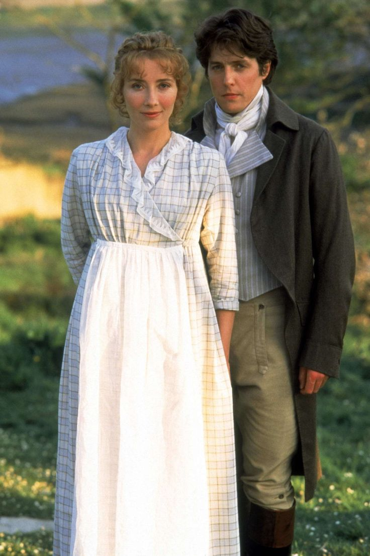 Elinor's day dress  Sense and Sensibility 1995