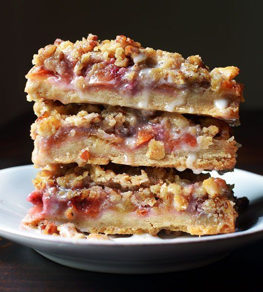 Recipe: Peach & Pecan Oat Crumble Bars Recipes from The Kitchn