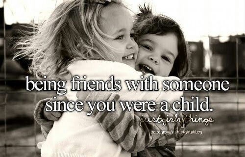 """my best childhood friend Tags: best-friends, childhood-friends, friend, friendship, genuine, girlfriends, minutes, quotes-about-friendship, real-friend, true-friend, years 48 likes like """"when i was a child, an angel came to say, a true friend is  it meant he thought i was cool enough to handle everything alone or—and this was what i hoped—it meant that he was my best friend, quietly, forever, no."""