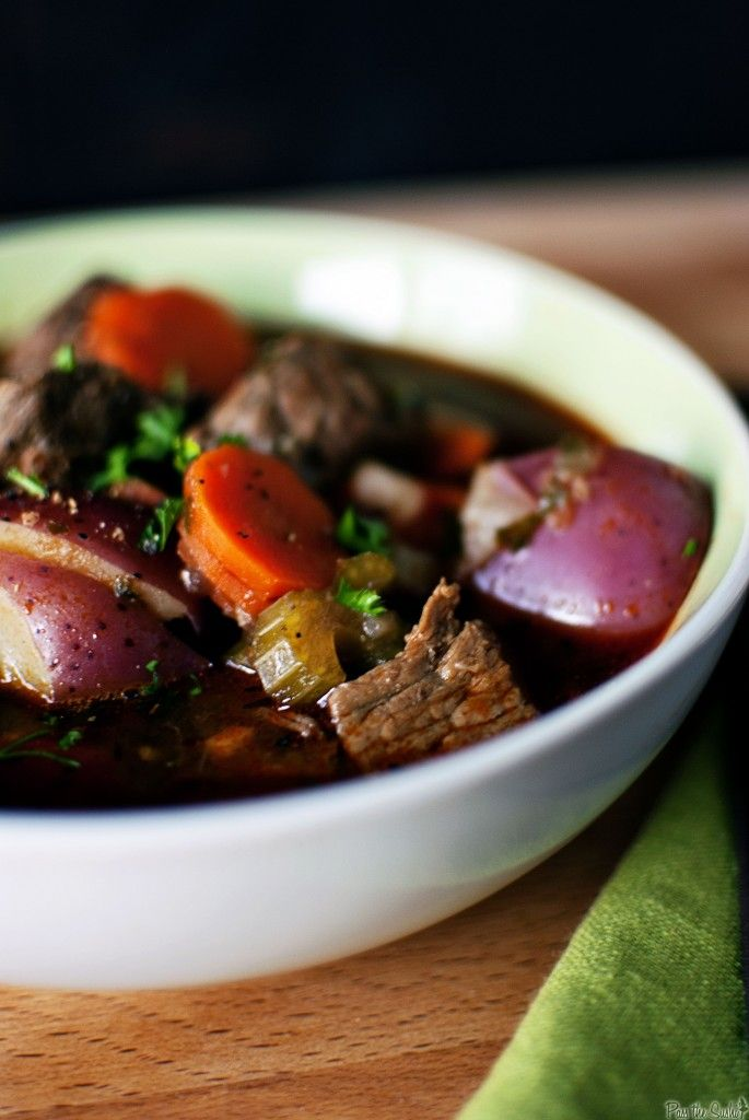Beef Stew replace the beer with some red wine and add mushrooms and ...