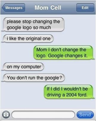 You don't run Google?