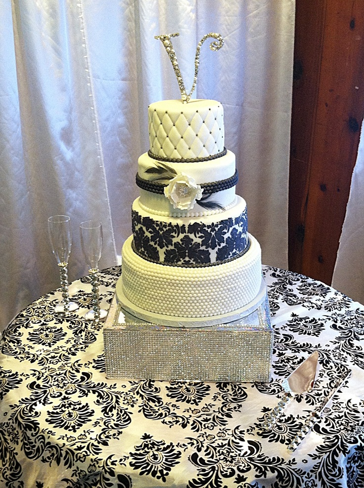 hollywood wedding cakes