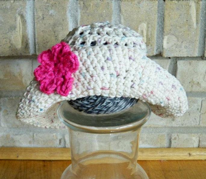 Pin by Crochet Addictuk on Flower Hat Pinterest