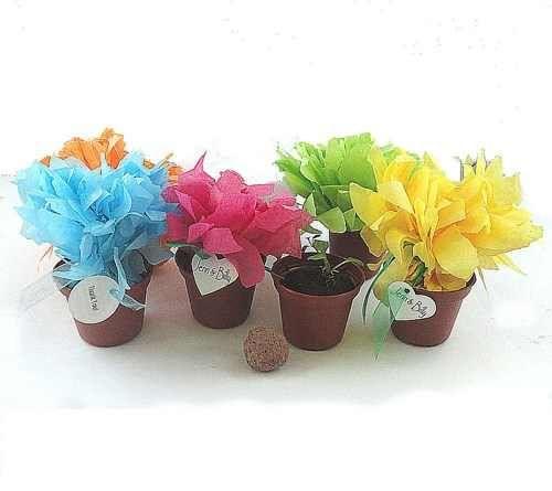 Mini Flower Pot Party Favor
