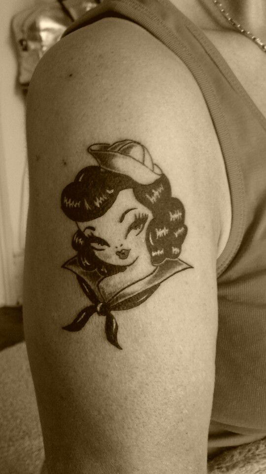 New School Pin Up Tattoo Pin'up new ...