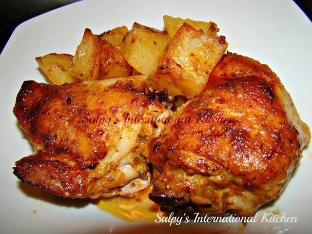 Roasted Herb & Garlic Chicken (Original Recipe by Salpy's ...