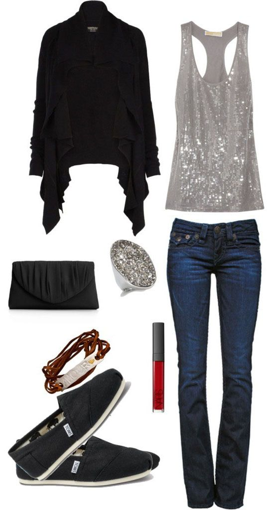 BLACK OUTFITS .. TOMS SHOES | Clothing Pieces And Shoes That I Love.u2026