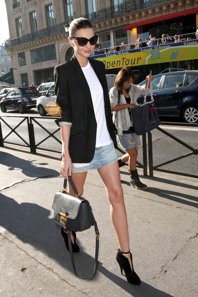 How To Wear A Denim Skirt Anywhere (Well, Except To A Job ...