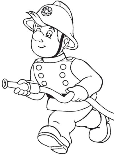 kids running coloring pages - photo#27